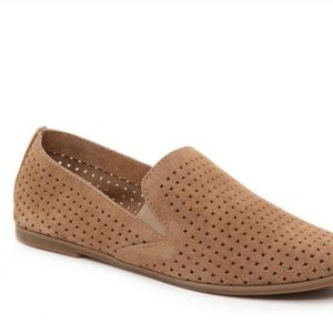 Lucky Brand Carthy Tan Suede Loafers- 8.5